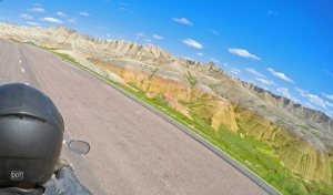 The colors of the Badlands really pop in early spring.